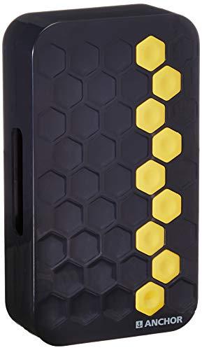 Anchor by Panasonic Ding Dong Door Bells Dual Tone aesthetics Home (240V, Black)