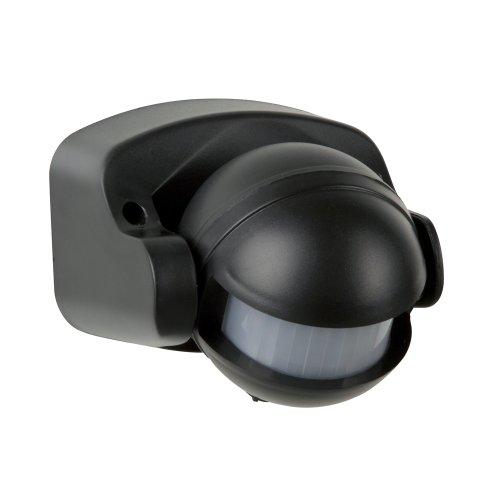 REV Ritter Bewegungsmelder AP-STA 180°, schwarz, 0075184512