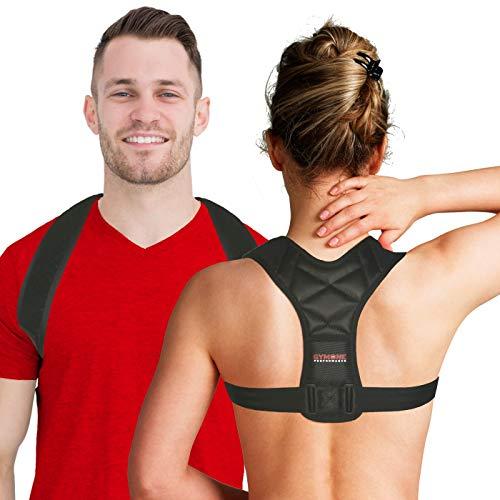 Fascia posturale spalle e schiena regolabile Gymone indicato per uomo donna...