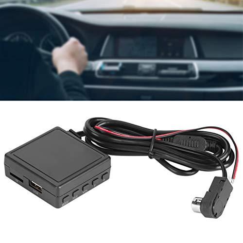 Adaptador de cable de audio, adaptador AUX para automóvil, enchufe USB de 3,5 mm, cable receptor de música, apto para JVC Alpine CD KS-U58 PD100 U57 U29