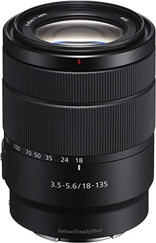 Sony SEL-18135 Zoom Objektiv 18-135mm F3.5-5.6 OSS (E-Mount APS-C geeignet für A5000/A5100/A6000 Serien und Nex) schwarz