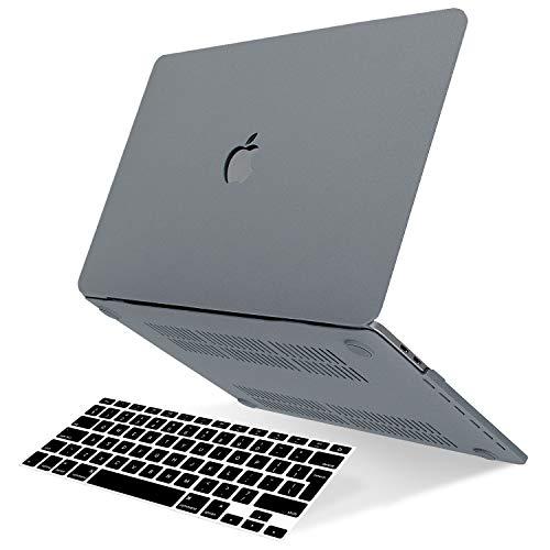 Belk Hulle Kompatibel mit MacBook Pro 13 Zoll 2020 2016 Freisetzung A2338 M1 A2289 A2338 M1 A2251 A2159 A1989 A1706 A1708 mitohne Touch Bar Matt Plastik Hartschale Schutzhulle Case Tastaturschutz