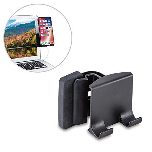 エレコム スマートフォン用スタンド/ディスプレイ用/クリップ式/ブラック