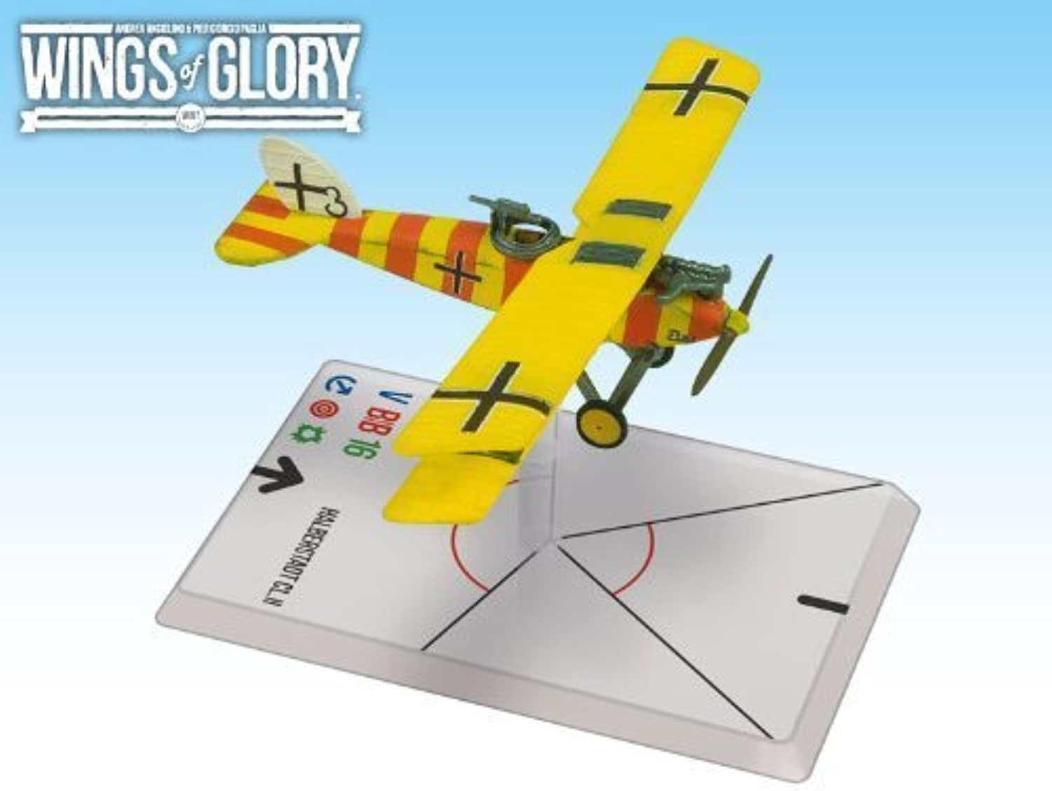 Wings of Glory  Halberstadt CL. II Niemann Kolodzicj by Ares Games