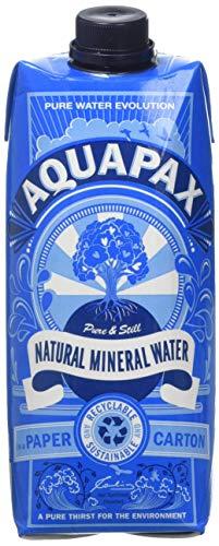 AQUAPAX Natural Mineral Water, 500 ml, Pack of 12