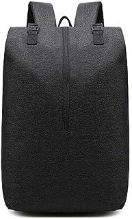 Fmdagoummzibeib Backpack, 15.6-inch Grey Laptop Outdoor Raincoat Travel Backpack With USB Charging Port