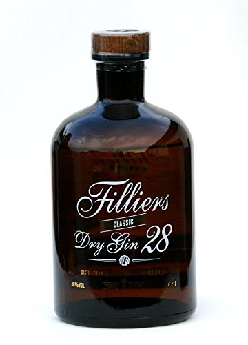 Filliers dry Gin 28. 1,0 Liter