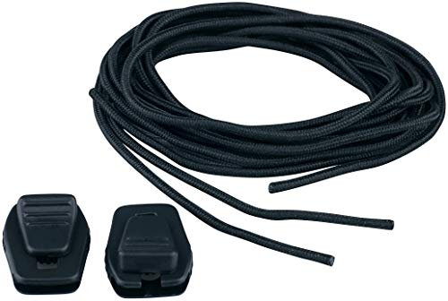 MESLE Wakeboard Tanka-Lace Set, 4 Schnürsenkel und Kordelstopper für Wakeboard Bindungen