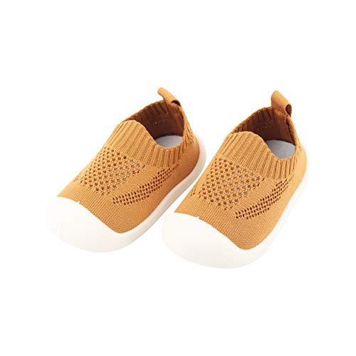 Bebé Infante Niños Niñas Zapatos de Primeros Pasos Volar Tejida Zapatillas Calzado...