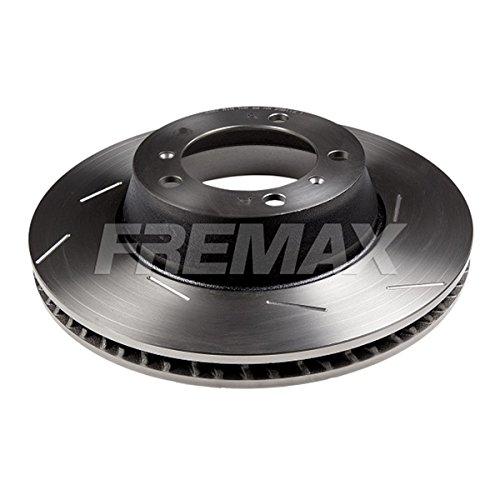 Fremax BD-3387 Bremsscheibe HC, Hinten Rechts, geschlitzt, (Dieser Artikel enthält 1 Bremsscheibe: für die rechte Hinterachse)