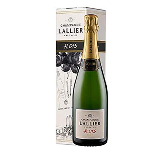 Champagne Lallier R.015 Brut – in Geschenkkartonage