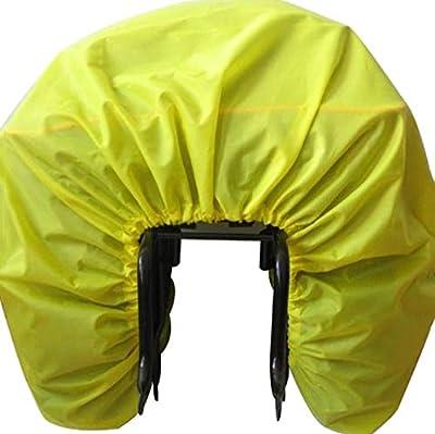 Roswheel Bike Rear Rack Bag Rain Cover, Waterproof Rain Cover for Bike Pannier Bag