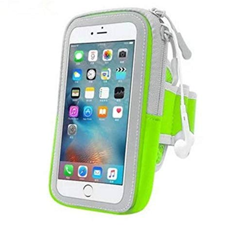 N-B Universal Arm Pocket 4.5-6 Pulgadas Mobile Sports Funda para Brazalete para teléfono móvil para Correr Sports Brazalete Cubierta para teléfono móvil Cubierta de la Caja Muñequera Ajustable