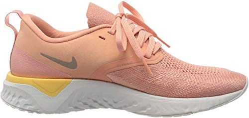 Nike Damen Odyssey React 2 Flyknit Traillaufschuh, Pink, 42 EU