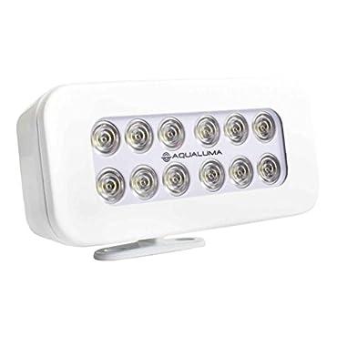 Aqualuma SL12BMW Bracket Mount Spreader Light 12 LED White Bezel