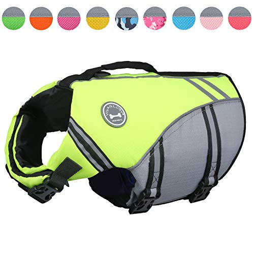 Vivaglory Sports Style Ripstop Dog Life Jacket