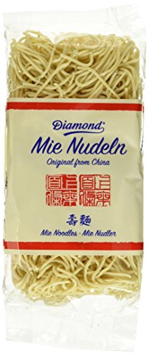 Double Happiness Mie Nudeln, ohne Ei, 10er Pack (10 x 250 g Packung)