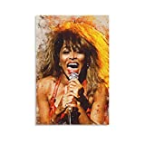 chengyin Tina Turner Leinwand-Kunst-Poster und