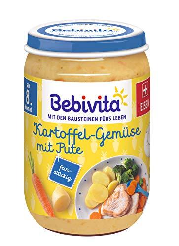 Bebivita Kartoffel-Gemüse mit Pute, 6er Pack (6 x 220 g)