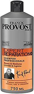 Franck Provost Expert Réparation+ Shampoo Professionale per Capelli Danneggiati o Fragili, 750 ml