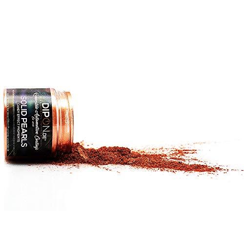 KandyDip DIPON® EffectPigments Effektpigment Liberty Copper Metal Pearl Perlglanz Metallic Pulver Pigment für Epoxidharz Autolack Sprühfolie Aquarell Dip Seife Powder (5 Gramm)