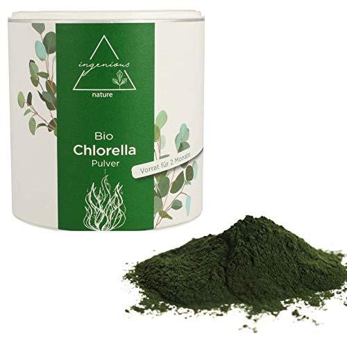 ingenious nature® Bio Chlorella PULVER - reines Chlorella Pulver - (300g)