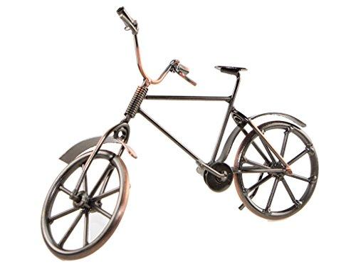Hierro molde hecho bicicleta Ornament Shabby diseño antiguo decoración del hogar regalo de inauguración de la casa, hierro, ZC05A-1