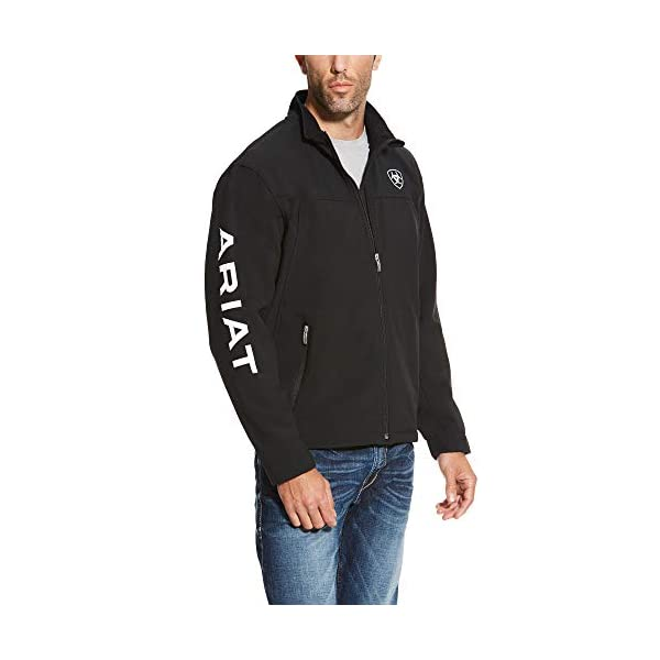 Ariat New Team Softshell Jacket – Men's Wind and Water Resistant Jacket