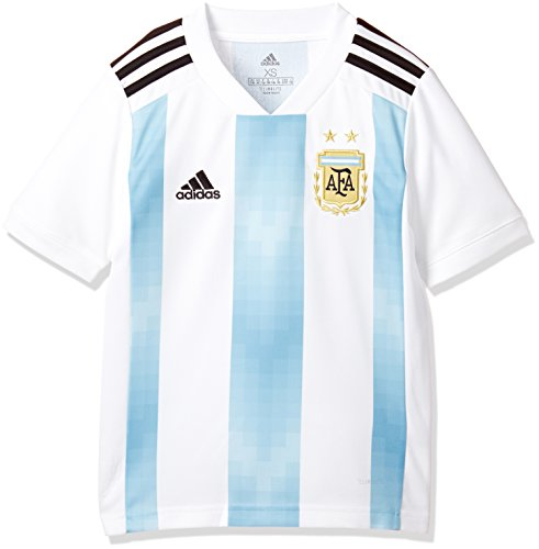adidas Kinder AFA H JSY Y Trikot, White/Clear Blue/Black, 164