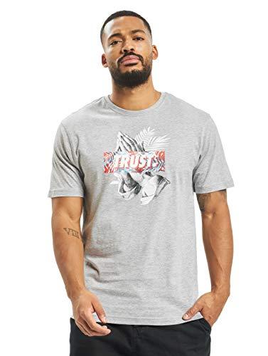 Cayler & Sons Herren T-Shirts Palm Trust grau XL