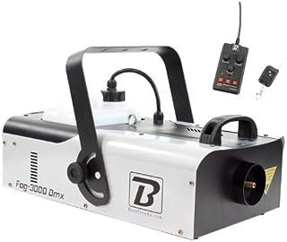 BoomToneDJ FOG 3000 DMX - Máquina de efectos, color negro