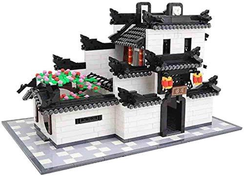 hsj Modellbausätze, Micro Diamant Building Blocks, China-Art-Gebäude-Ziegelstein Set 1575 Pcs Haus Building Blocks, Architektur Sets 3D Kinder Erwachsene Spielzeug Geschenke Exquisite Verarbeitung