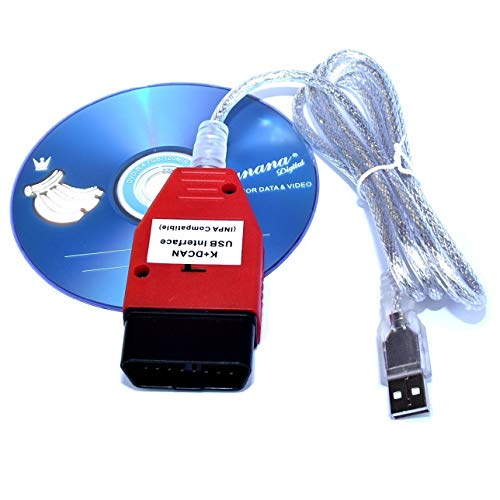AntiBreak DCAN K+ INPA Ediabas Interface OBD2 Diagnostic USB Cable Car Diagnostic for R56 E87 E93 E70