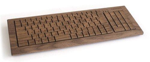 Hacoa フルキーボード ウォールナット H930-W