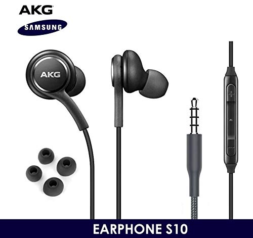 OEM ElloGear Earbuds Stereo Headphones for Samsung Galaxy S10 S10e Plus Cable -...