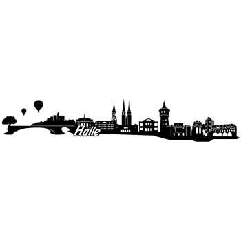 Samunshi Hattingen Skyline Aufkleber Sticker Autoaufkleber City Gedruckt