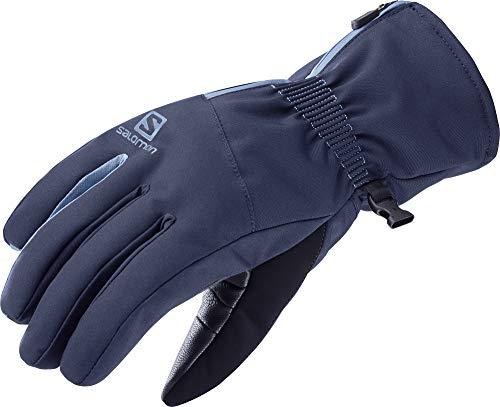 SALOMON Gloves Propeller Dry W Guantes, Mujer, Night Sky/Copen Blue, s