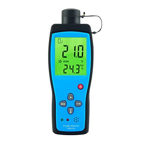 S SMAUTOP Gasdetektoranalysator, Hand-Sauerstoffmessgerät Monitor Konzentrationsmessgerät mit LCD-Digitalanzeige...