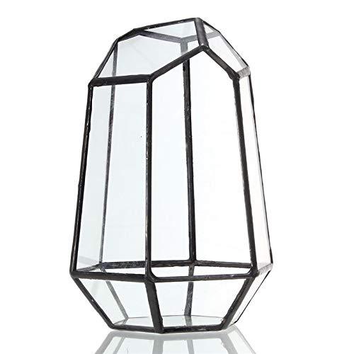 MYAMIA Glass Geometric Terrarium Box Tabletop Succulent Plant Planter - #2