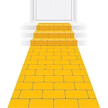 yellow brick road floor runner