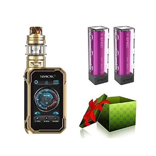 Smok G-Priv 3 230W Luxe Edition E-zigarette Starterset TC Vape Box Mod TC kit E-Zigarette-OHNE NICOTINE (gold)