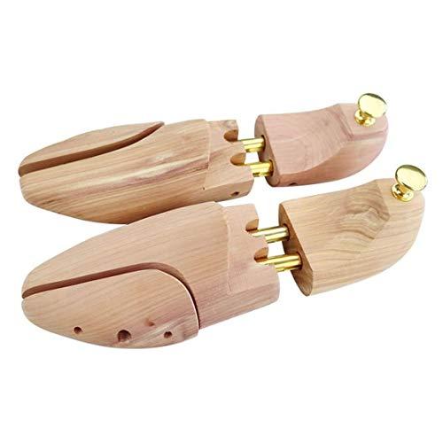 Zapatero de madera Moldeadora de zapatos de madera con puntera de resorte dividido para zapatos de hombres y mujeres, que garantiza que sus zapatos duren más y se mantengan en excelente forma