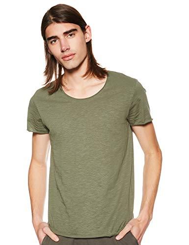 JACK /& JONES Jjebas Tee SS U-Neck Noos T-Shirt Uomo