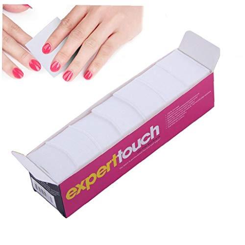 325pcs Lint Gratis Nail Wipe Wattenschijfjes Nail Art Gel Polish Remover Soft Absorberend Katoen Veeg Voor Salon of Doe-het Gebruik