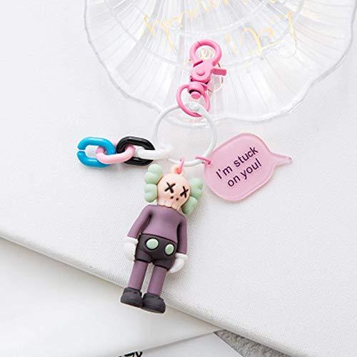 3D PVC SESAME STRASSE Keychain ELMO Keks Monster Spielzeug Puppe Schlüsselanhänger Freunde Geschenk Bag LLaveros