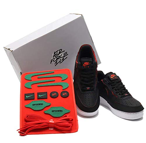 Nike Air Force 1 Low 1/1 Black Chile Red Pack Velcro - Talla 46