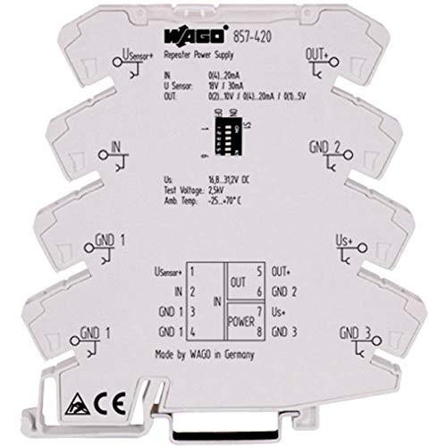Wago 857-420 alimentación del relé - Relé de potencia (Gris)