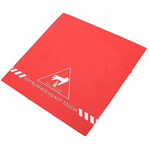Ils – 200 x 200 mm gematteerd verwarmd bed – bestand tegen hoge temperatuur – vervangen maskeertape voor 3D-print.