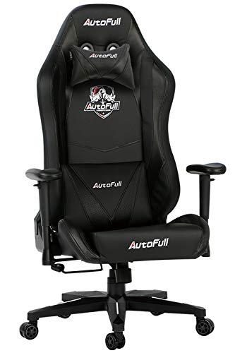 【Amazon.co.jp 限定】 AutoFull(オートフル) ゲーミングチェア 椅子 オフィスチェア リクライニング パソコンチェア ハイバック ロッキング レーシングチェア ワークチェア レザー e-sports競技 多機能 人間工学 AF901