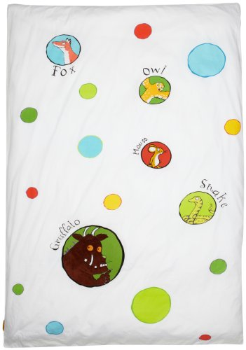 Izziwotnot The Gruffalo Single Bed Duvet Cover And